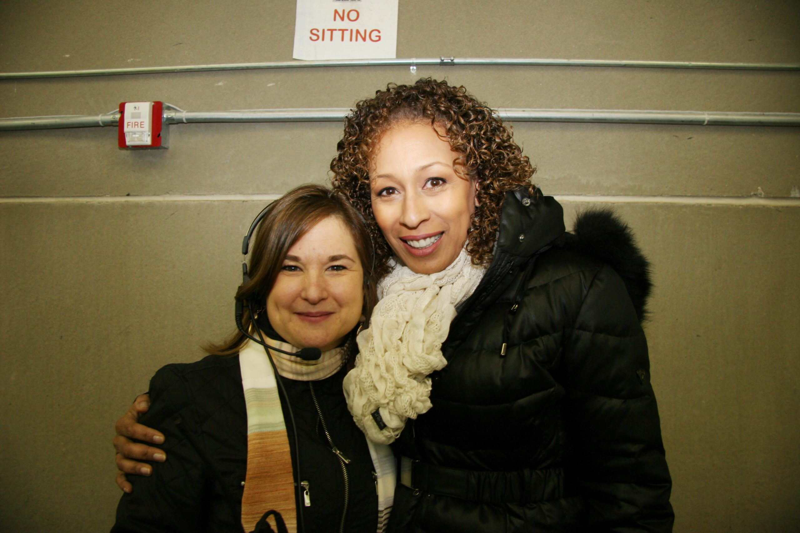 Sharon Cohen and Tamara Tunie 2012